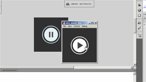 button tutorial in flash flash tutorial play pause toggle button with actionscript