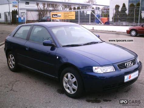 Audi A3 Baujahr 1998 by 1998 Audi A3 1 6 Ambition Klimaautom Car Photo
