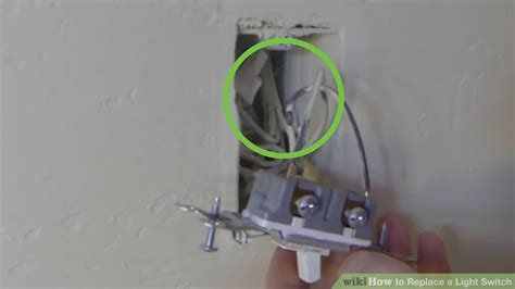 how to replace a light switch 3 ways to replace a light switch wikihow