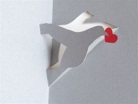 How To Make A Dove Out Of Paper - how to make a pigeon or a dove or a stork with a single