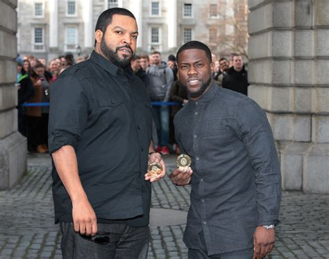 kevin hart vip kevin hart and ice cube presented with prestigious award