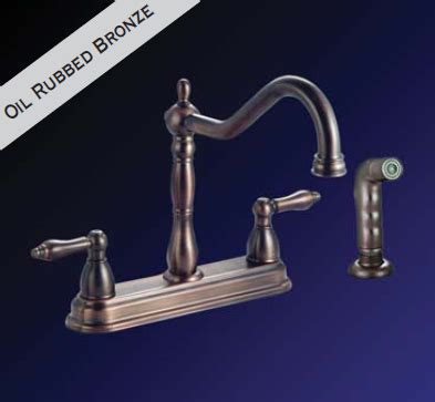 Kissler Plumbing by Kissler 77 6606 Dominion Two Handle 8 Inch Kitchen Faucet