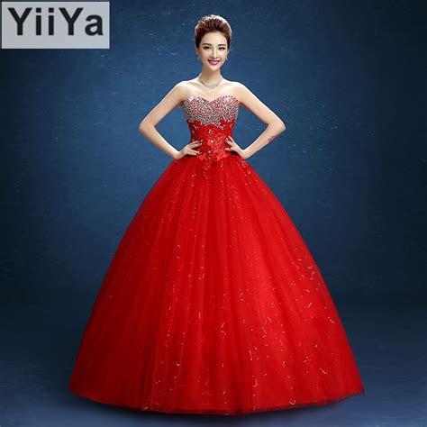 Wedding Frocks by Free Shipping Yiiya 2016 Design Handmade Bridal Wedding