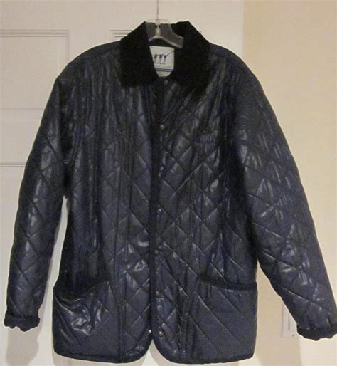 Navy Blue Quilted Jacket Womens by Womens Henry Cotton Navy Blue Quilted Jacket Size Large