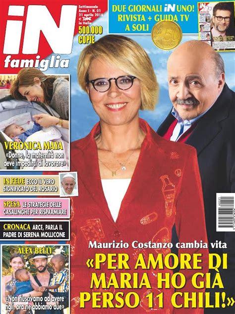 settimanale gossip in famiglia settimanale in edicola il primo numero della