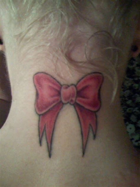 tattoo neck bow neck tattoos and designs page 142
