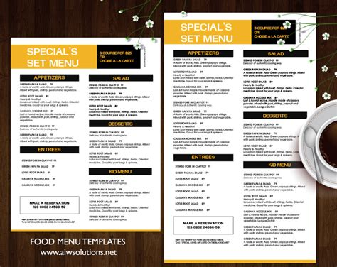 bar food menu templates bar menu template 25 bar menu psd vector eps diet