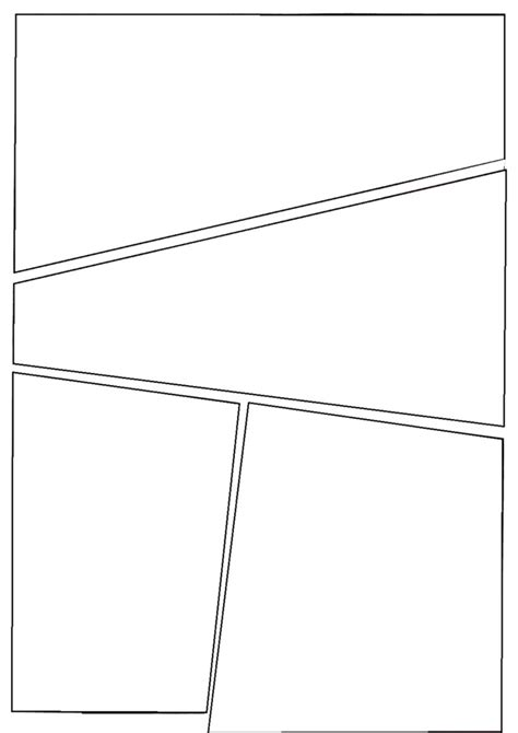 four panel comic template c i c s bucktown comic template to use drawing