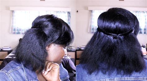 pressed hairstyles how to use heat on natural hair natural sisters south
