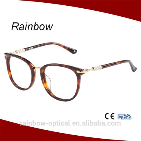 eyeglass frames made in china acetate spectacles frame