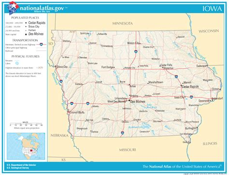iowa state map iowa state maps interactive iowa state road maps state maps