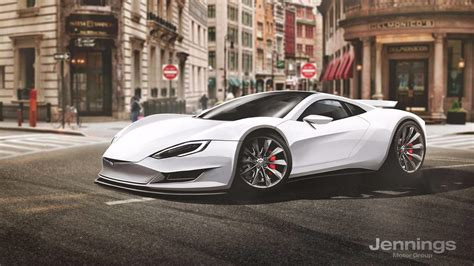 tesla supercar tesla supercar rendered