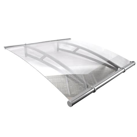 clear awning classy and clear polycarbonate door canopy canopykingpin com