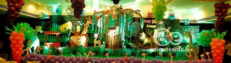 jungle theme birthday decoration ideas aicaevents jungle theme birthday decorations