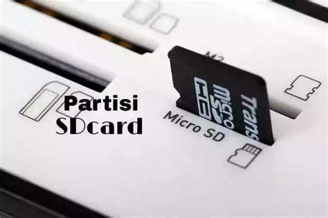 Memory Card Untuk Laptop cara partisi sdcard