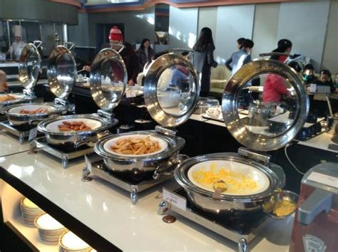 breakfast buffet in the new york restaurant picture of