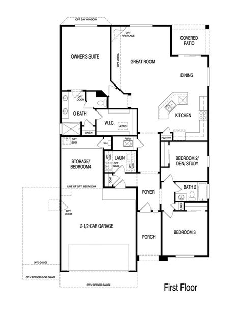 pulte homes floor plan pulte homes floor plans 2005