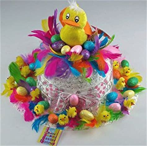 Handmade Easter Hats - ready made easter bonnet handmade nest co