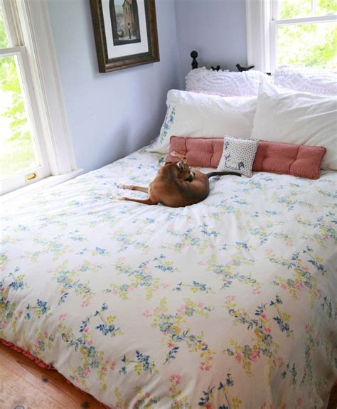 How To Sew A Comforter by Diy Duvet Cover Comforter Cover From Two Flat Sheets