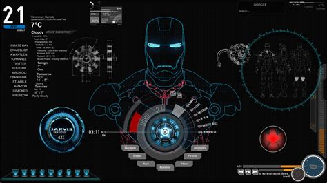 live wallpaper for pc iron man j a r v i s iron man desktop spicy sashimi