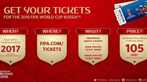 bid tickets ticket details for the 2018 fifa world cup russia fifa