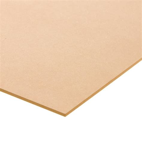 medium density fiberboard common 1 4 in x 2 ft x 4 ft