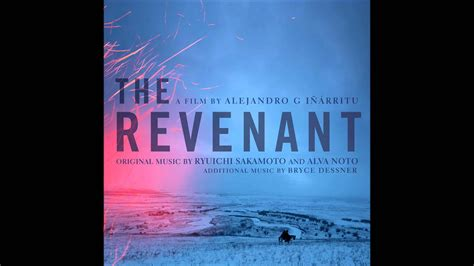 Original The Revenant 1 Disc ryuichi sakamoto the revenant theme the revenant original motion picture soundtrack