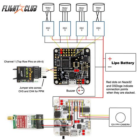 quadcopter motor wiring diagram wiring diagram with