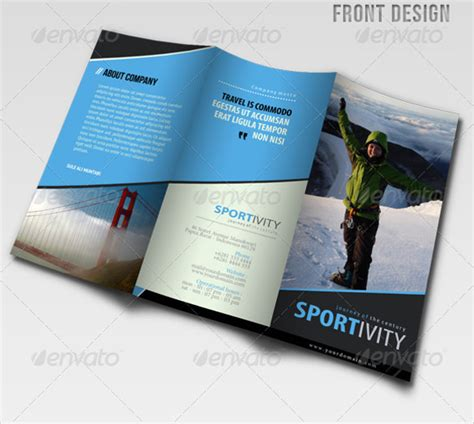 modern brochure design templates 19 modern brochure designs psd vector eps