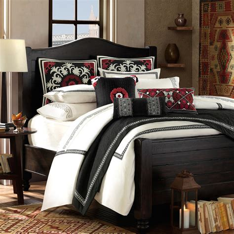 comforter sets with euro shams artology kalam 3 piece comforter set and euro sham