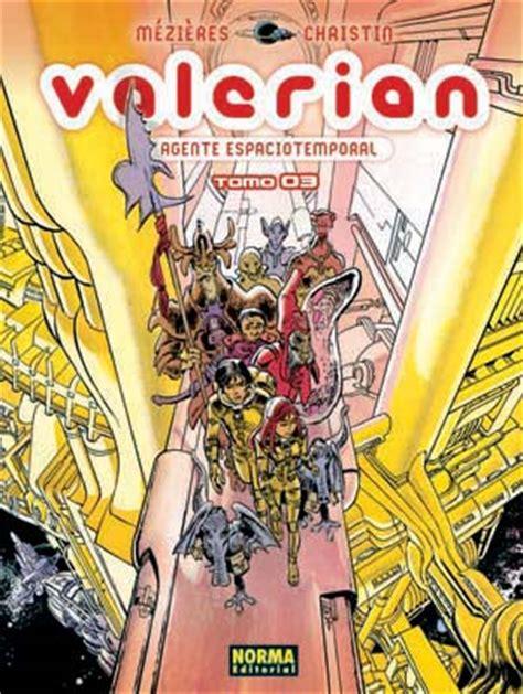 valerian 3 agente espaciotemporal norma comics valerian agente espaciotemporal 3