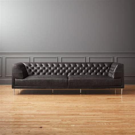 modern chesterfield sofas modern chesterfield sofa barrel studio ramses modern