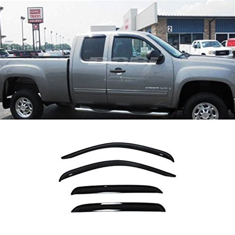 Window Front Visor Nouvo Classic Lele Original gevog 4pcs side window deflectors original window visors for 07 13 chevy silverado gmc