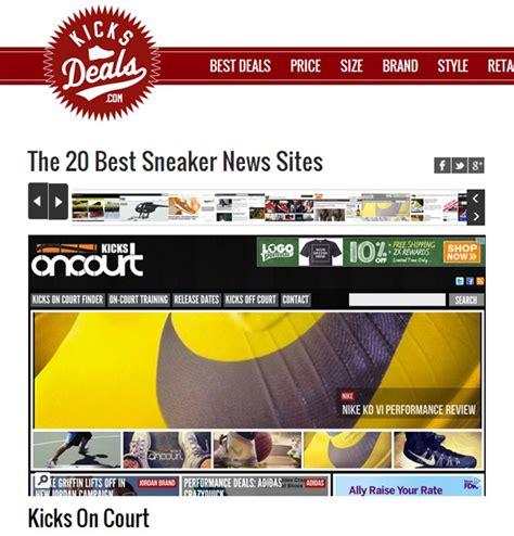 best sneaker site kicks deals lists the 20 best sneaker news weartesters
