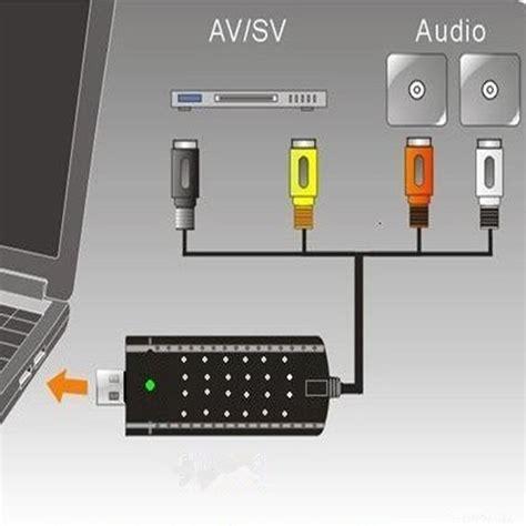 Tv Tuner Di Hitech Mall usb 2 0 tv tuner dvd audio capture card adapter for windows win 7 8 xp pc ebay
