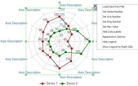 web graph generator spider chart software