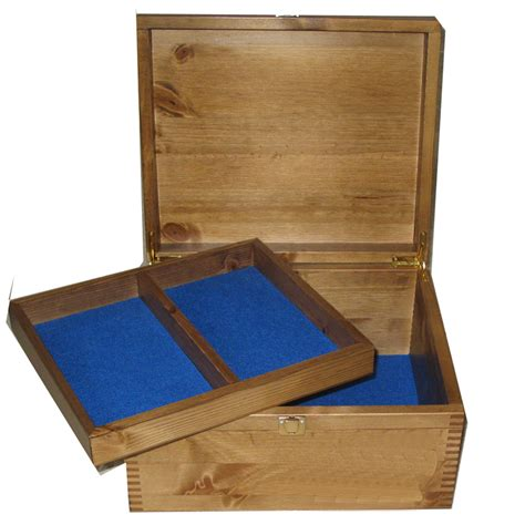 Box Pets wood pet memory box with paws and name