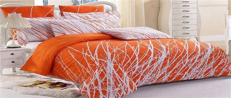 Orange Bedding Sets Luxury Bedspreads Comforters Cheap King Bedspreads