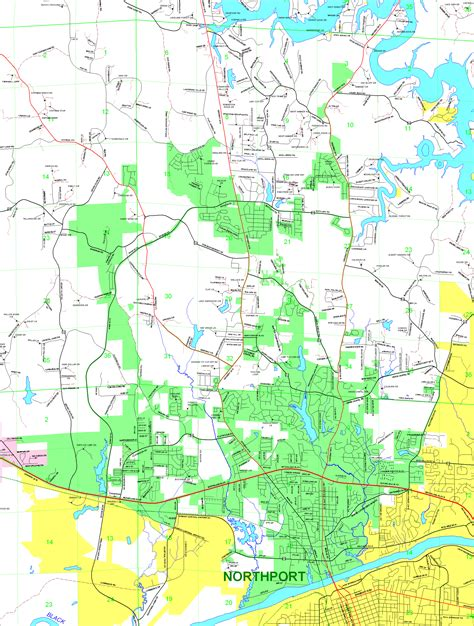 Tuscaloosa County Property Tax Records County Municipality Maps Tuscaloosa County Alabama