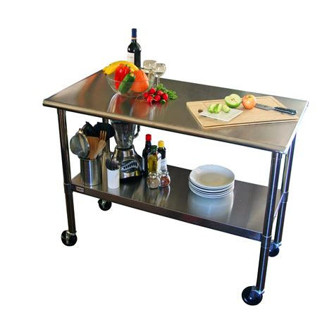 stainless steel table with drawers stainless steel kitchen prep table with drawers home