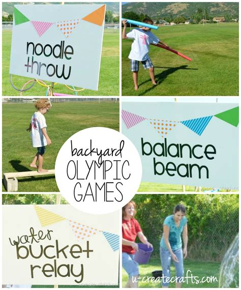 diy backyard olympic u create