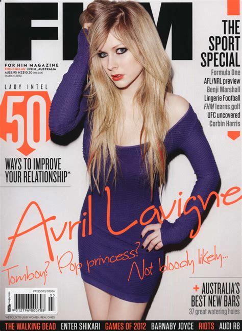 Avril Lavigne Does Day Magazine by Avril Lavigne Legs For Fhm Magazine Australia 2012 10 Fabzz