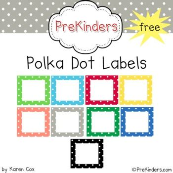 printable calendar labels for classroom free polka dot classroom labels polka dot labels