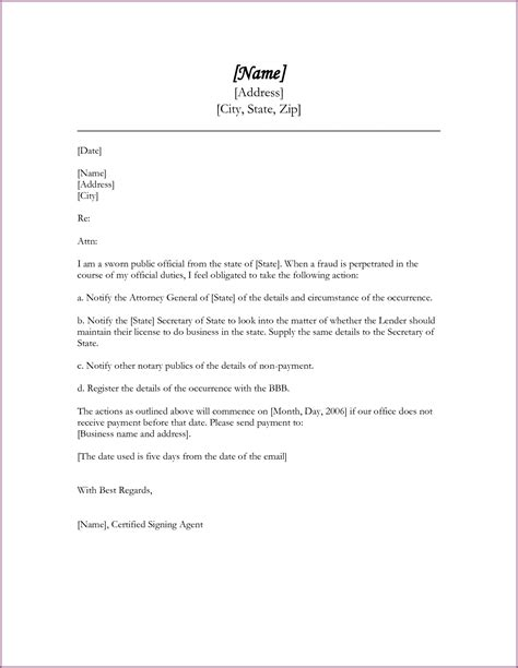 Business Letter Format For Collections sle collection letter designproposalexle