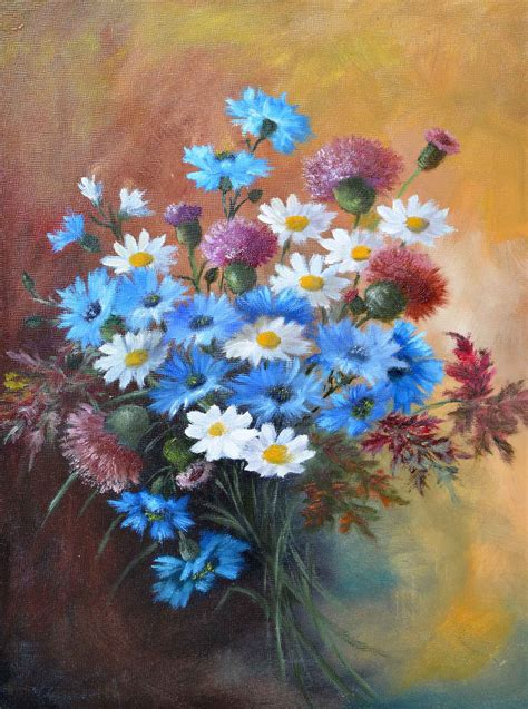 vasi di fiori dipinti dipinti di fiori mazzi di fiori in un vaso galleria