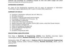 pankaj resume construction project manager objective