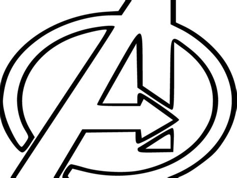Avengers Logo Coloring Page | avengers egg by broadsword85 thingiverse