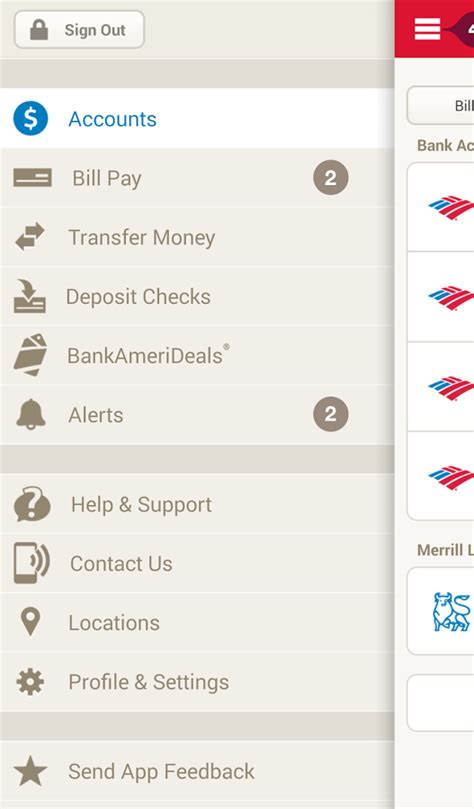 Bank Of America Background Check Unsatisfactory Bank Of America Android App Version 6 0 Makes Depositing