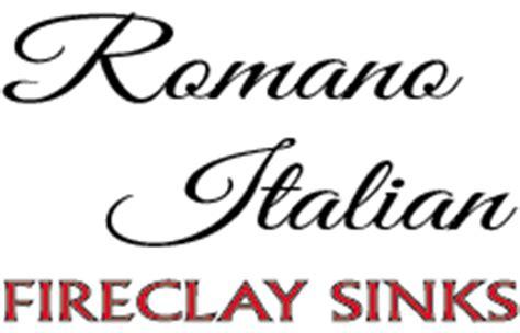 romano fireclay sinks sinks index