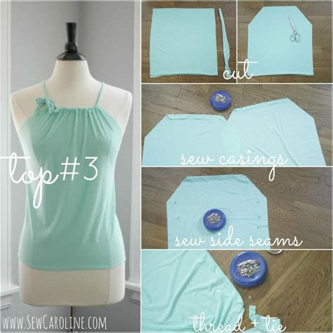 sewing with jersey knit today i m bringing you three easy to sew tops for summer